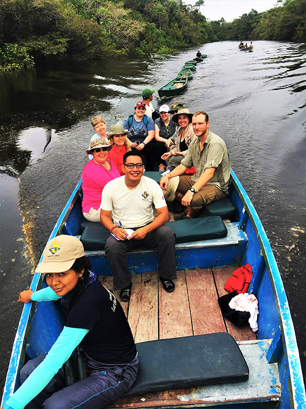 Expedition in Amazonia Peru